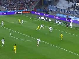 Résumé Marseille 1-3 Nantes 2020. dugout