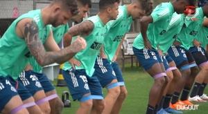Flamengo start training for Athletico-PR clash in the Brazilian Cup. DUGOUT