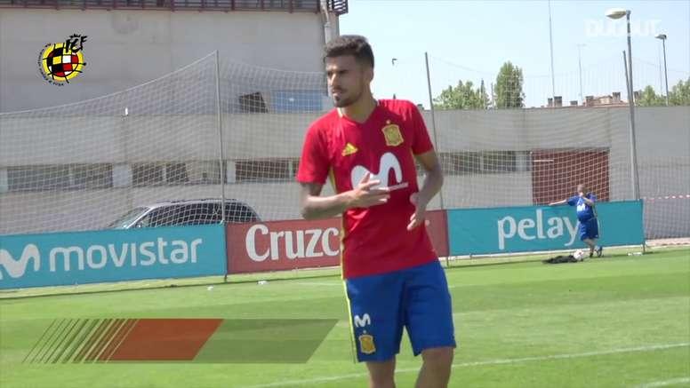 Dani Ceballos foi um dos destaques da Espanha no Europeu Sub-21 em 2017. DUGOUT