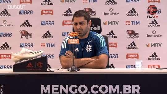 Médico do Flamengo, analisou a situação física dos jogadores. DUGOUT