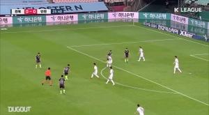Jeonbuk won 1-0. DUGOUT
