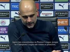 Guardiola garante foco total do City na Premier League. DUGOUT