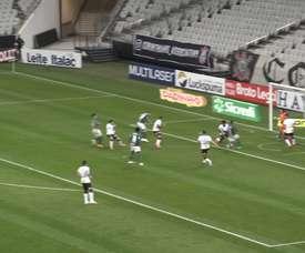 Cássio foi destaque do Corinthians no clássico do retorno contra o Palmeiras. DUGOUT