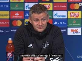 Solskjaer comentou sobre a vitória do Manchester United contra o PSG. DUGOUT
