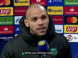 Braithwaite se diz feliz por provar que pertence ao time do Barcelona. DUGOUT
