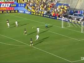 El América goleó a Santos. DUGOUT