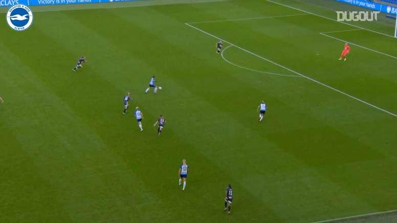 Best goals by Brighton female team. DUGOUT