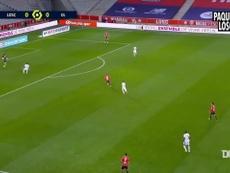 Lucas Paquetá's best moments vs Lille. DUGOUT