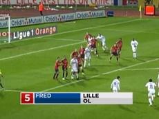 Le Top 5 buts de Fred à Lyon. DUGOUT