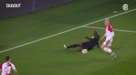 Lautaro et Lukaku avec l'Inter. Dugout