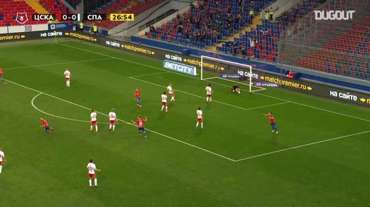 CSKA Moscow beat Spartak Moscow 2-0 at the end of June. DUGOUT