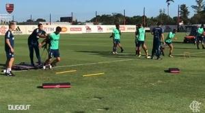 Flamengo: Rodrigo Caio and Pedro work hard to return to the games, DUGOUT