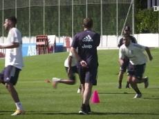 Primeiro treino de Weston Mckennie na Juventus. DUGOUT