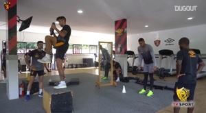 Sport inicia a preparação para o duelo com Bahia no Brasileirão. DUGOUT