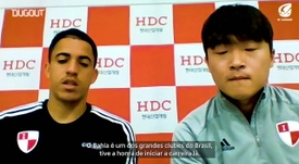 Rômulo elogiou o Bahia falou sobre a trajetória pelo futebol da Ásia. DUGOUT