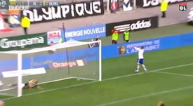Lisandro Lopez scored in Lyon's 3-0 victory over Reims in 2012. DUGOUT