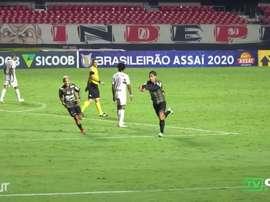 Sarrafiore marca e Coritiba empata com o São Paulo. DUGOUT