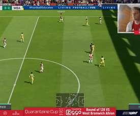 El Ajax sometió claramente al WBA. DUGOUT
