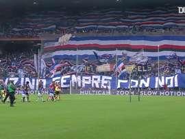 Defrel e Caprari stendono la Juventus. Dugout
