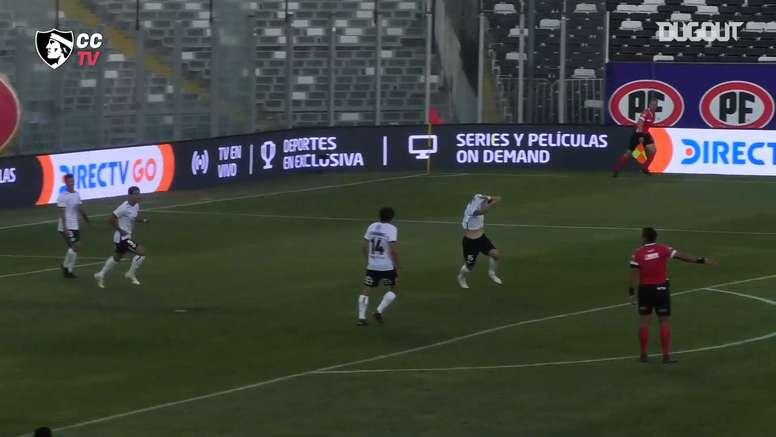 Pablo Mouche marcó el gol de la victoria en el 91'. Captura/DUGOUT