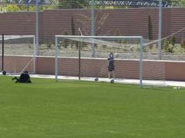 Leganes started training in groups on Monday. DUGOUT
