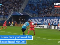 Ivanovic was a key player for Zenit. DUGOUT