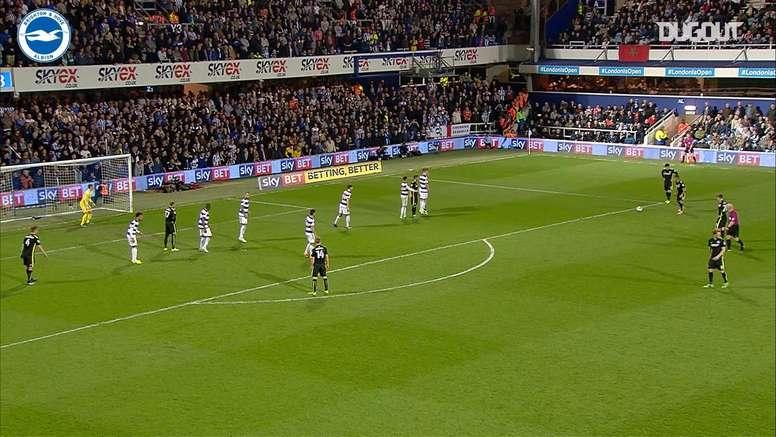VIDEO: Sebastien Pocognoli's spectacular free-kick vs QPR. DUGOUT