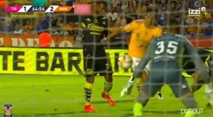 VÍDEO: la jugada 2x1 de Damm ante Monterrey. DUGOUT