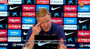 Koeman is against rotation. DUGOUT