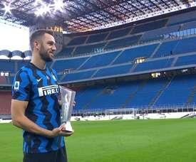 Stefan de Vrij named Best Serie A Defender 2019-20. DUGOUT