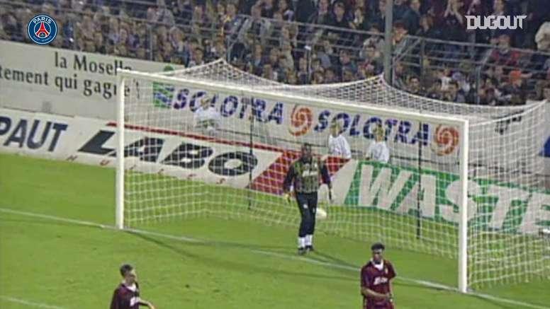 VIDEO: Rai's superb finish against Metz in 1995. DUGOUT