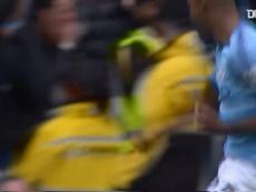 Fernandinho's unstoppable effort against Burnley. DUGOUT