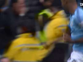 Fernandinho's unstoppable effort against Burnley. DUGOUT