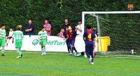 VIDEO: Take Kubo a top goalscorer at La Masia. DUGOUT
