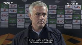 Mourinho hizo autocrítica. DUGOUT