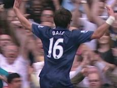 Il primo goal di Bale con il Tottenham. Dugout