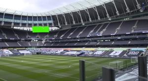Bastidores do empate entre Tottenham e Manchester United. DUGOUT