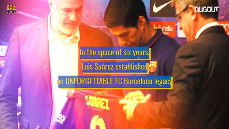 Suárez has had some incredible years at Barca. DUGOUT