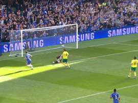VIDEO: Mata's brilliant run sets up Hazard vs Norwich. DUGOUT
