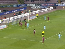 Napoli have scored some quality goals versus Roma over the years. DUGOUT