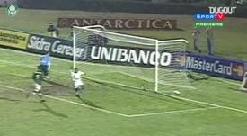 Palmeiras salió campeón de la Libertadores en 1999. DUGOUT
