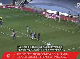 Barcelona de Ter Stegen está na final da Supercopa da Espanha após decisão nos pênaltis. DUGOUT