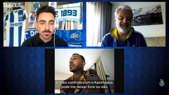Quaresma participou de uma conversa nos meios oficiais do Porto e falou sobre o futuro. DUGOUT