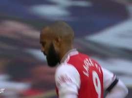 La vittoria dell'Arsenal sul Tottenham. Dugout