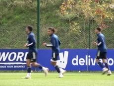 Le premier entrainement de De Sciglio à Lyon. Dugout
