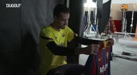 Barcelona apresenta novo uniforme para temporada 2020/21. DUGOUT