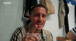 Hazard hizo correr el champán por el vestuario. DUGOUT