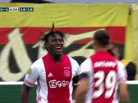 La victoire historique 13-0 de l'Ajax contre VVV-Venlo. DUGOUT