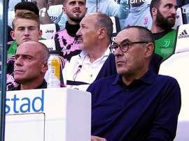 Les meilleurs moments de Sarri à la Juventus. dugout