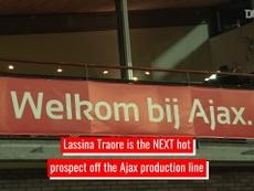 Lassina Traore - Ajax's latest academy star. DUGOUT